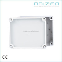 Unizen waterproof IP67 ABS plastic connection Enclosure hinged tin box