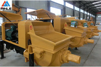 top quality high speed hydraulic motor portable electric concret pump