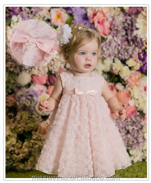 kids beautiful model 2 year old girl dress flower girl dresses for baby girl