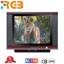 Hot sale brand new crt tv /15 17 20 inch small size complete Color Television with FTA certificate