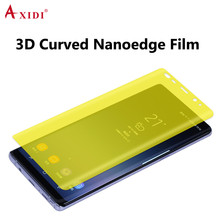 USA Raw Material Invisible Shield Anti-glare Matte 3D Screen Protector For Galaxy note 8 Anti-scratch Film
