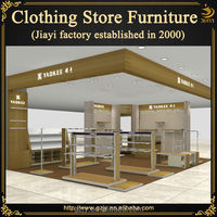 Hot selling factory made fashion metal clothing displays trade shows