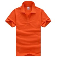 High Quality 100% Cotton Mens Blank Wholesale Stock Lot Polo T Shirts