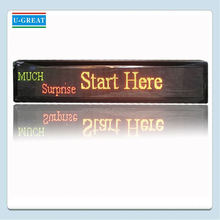 Innovation Indoor Electronic Full Color Programmable LED Moving Sign