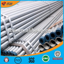 Water Delivery Use Galvanized Steel Pipe With Threaded Ends And Plastic Caps