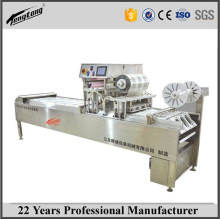 MAP gas flushing vacuum tray sealer, wholesale tray vacuum packaging machine