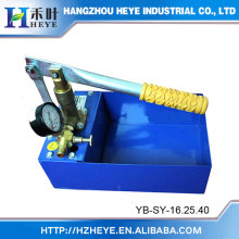 Water Pump Testing Equipment SY-16XX/25XX/40XX/60XX Metal Water Tank Hand Pressure Test Pump