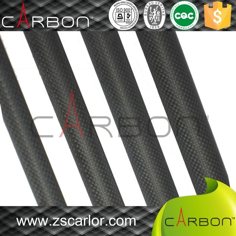 2016 high quanlity Roll Wrapped Carbon Fiber Tube, 3k carbon fiber tubing, carbon fibre pole