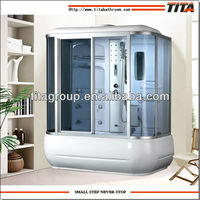 Steam Shower Room Cabin with Massage Bathtub