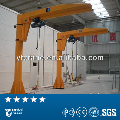 electric hoist fixed light duty loader boat jib crane price
