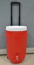 20L insulated SY water cooler barrel with wheels