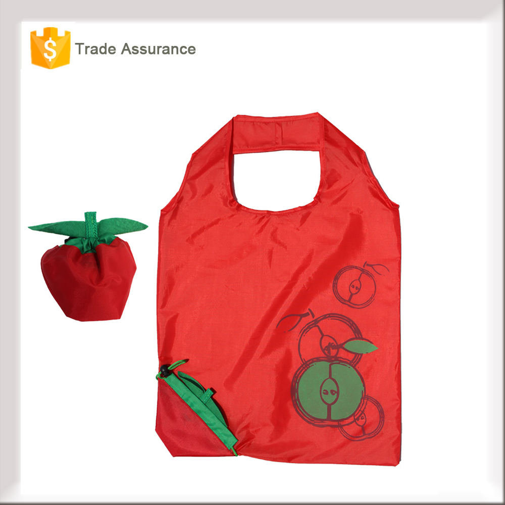 Portable Travel Shopping Tote Eco Polyester Folding Shopping Bag