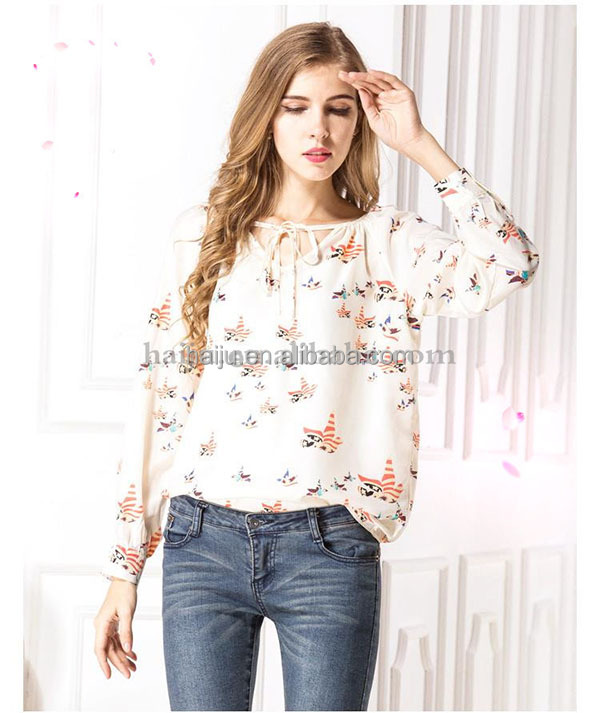 Spring summer fashion&elegant different types of blouse designs