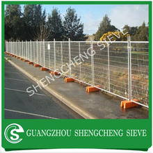 PVC coated Temporary dog fence panel wire mesh fencing