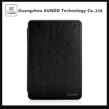 [XUNDD]Brand Encore Series Black Flip Wallet Leather Case Cover for Apple iPad Mini