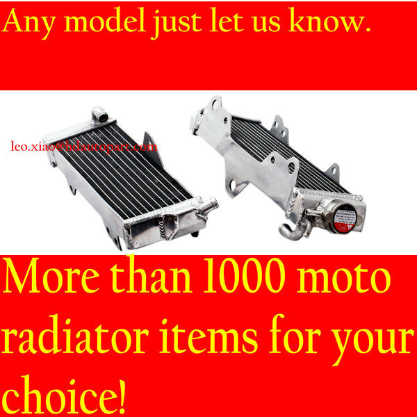 Aluminum Motocycle Radiator for Yamaha YZ125 2011 & radiator manufacturer & motorcycle part