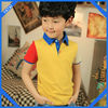 2014 assorted colors kids polo t shirt with high quality