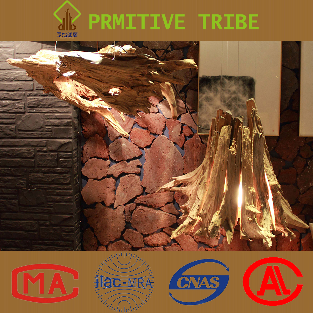 Latest Design Tree Root Art Deco Vintage Indoor Wooden Chandelier