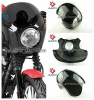 Universal Headlight Streetfighter Cafe Racer Drag Racing Viper For Sportster Dyna W/39mm Forks FX/XL ZJMOTO