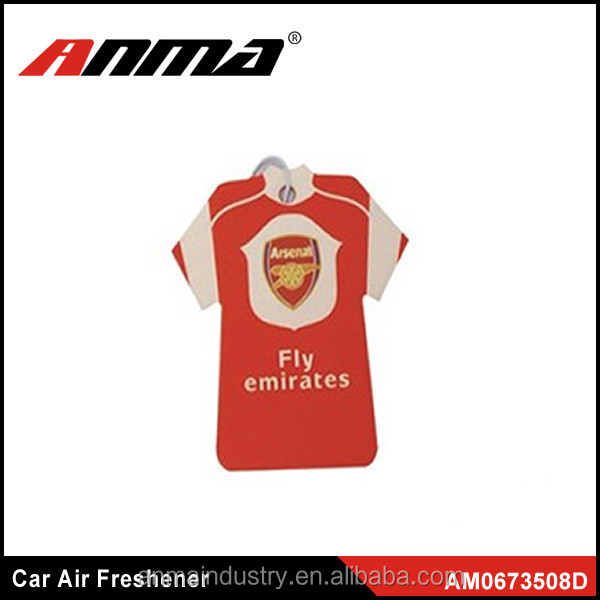 Hanging car paper air freshener, Customized Logo Car Air Freshener