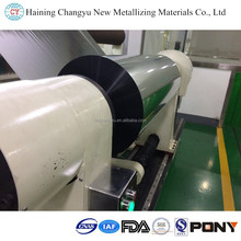 Food Packaging Met Pet Film Metallizing Metallized PET/Polyester Film rolls