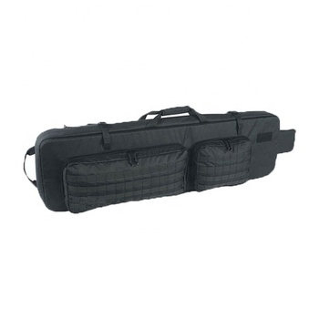 Yakeda air soft double rifle case durable travel hunting outdoor military tactical gun bag