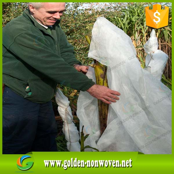 100% PP nonwoven fabric for agriculture weed control for grass and plant cover fruit cover mat