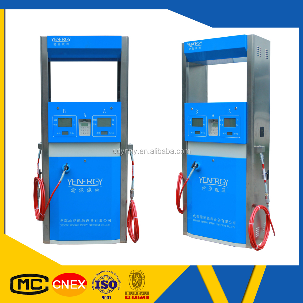 Advanced technology natural gas filling equipment for cars