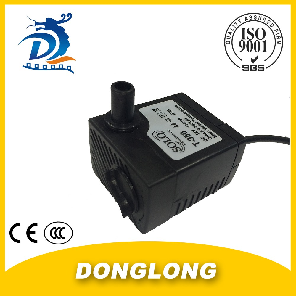DL HOT SALES Factory Direct DC Air Cooler Submersible Water Pump 12V