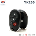Lixing One Way Car Alarm System With Flip Key Remote Controls Suitable spy alarm