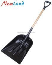 NL921 Stainless Steel Folding Shovel steel gardening hand spade snow tools agricultural grain shovel