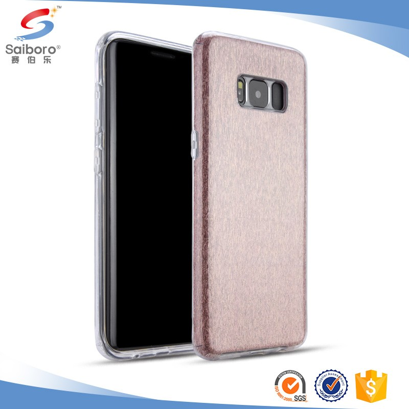 Newest arrival glitter case s8