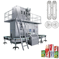 Full automatic bottled milk beverage production line of milk /beverage production line of fruit and vegetable juice