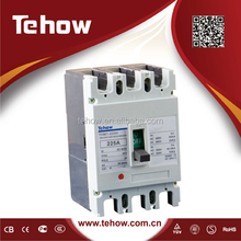 Tehow mouded case circuit breaker protect 415v distribution transformers mccb