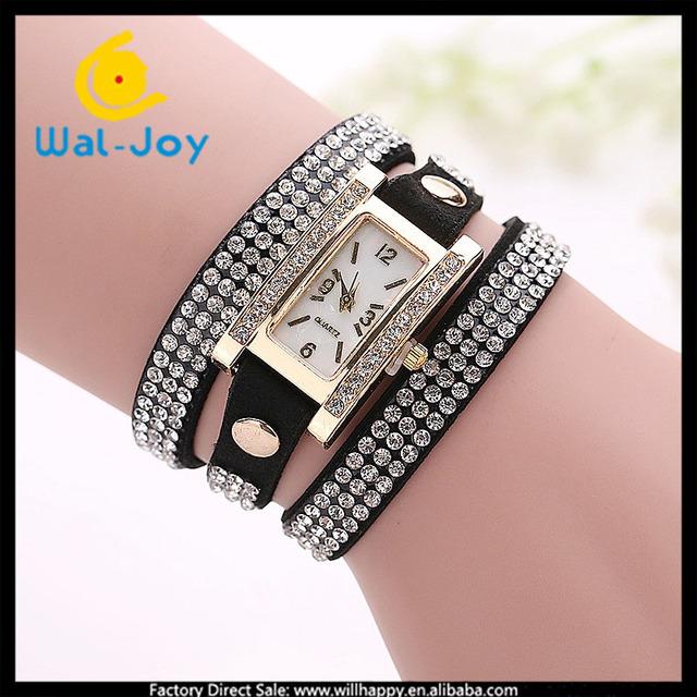 China wholesale cheap high quality smart fashion women watch(WJ-1625)