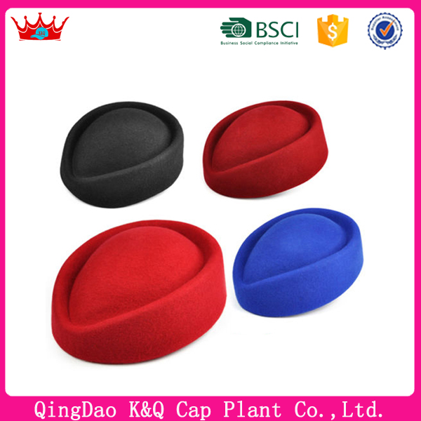 Hot sell high quality promotional air hostess hat