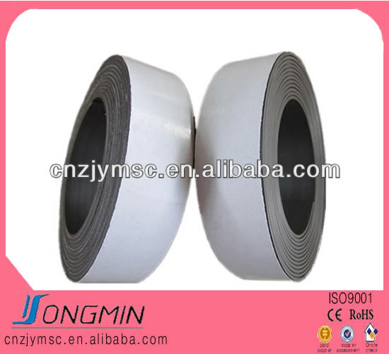 strong rubber double sided magnetic tape