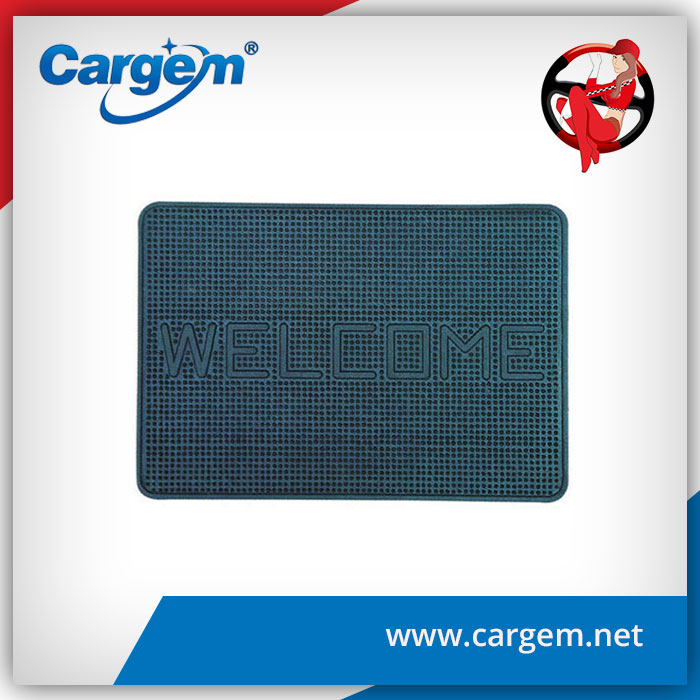CARGEM welcome door rubber mat
