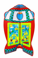 lefunland kids play panel rocket
