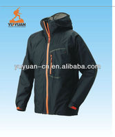 Windproof mens high neck hoodie jacket,outdoor leisured wear