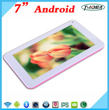 1024*600 HD Screen 7 Inch Tablet Pc With 8GB Rom Allwinner A33 Quad Core
