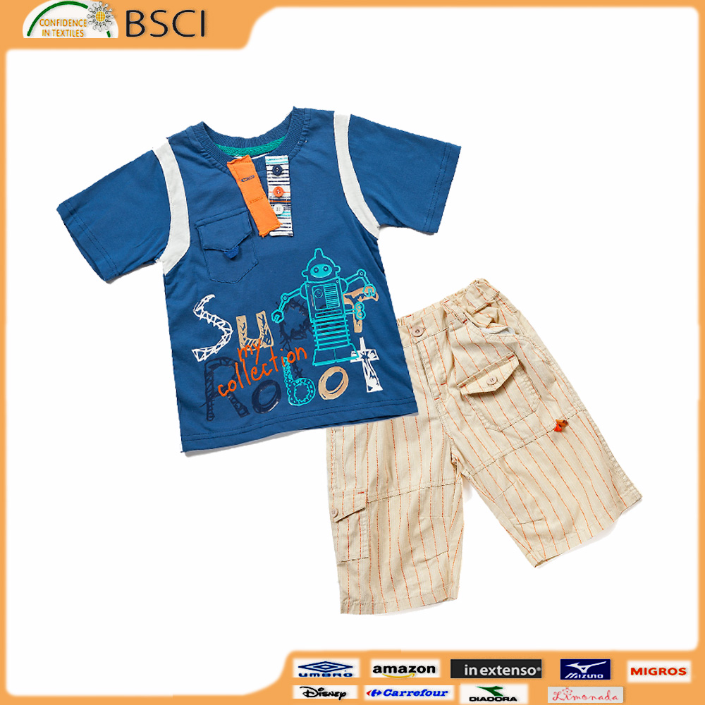 toddler ruffle shorts Design Clothing Manufacture in China Baby Kid Clothing Set