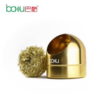 BAKU BK 222 dry stainless steel wire cautery iron tip cleaning ball