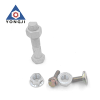 Furniture button head cap aluminum flat screws