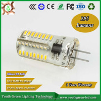 Five years warranty CE RoHS U l TUV ERP g4 led in led bulb light/G4 lamp 2w/led corn light smd 2835 g4