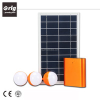 High capacity LiFePO4 battery portable solar light system for home energy