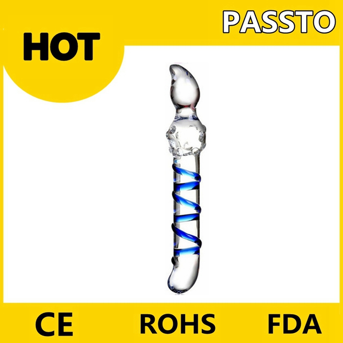 Low Price China manufacturer wholesale glass dildo vibrator