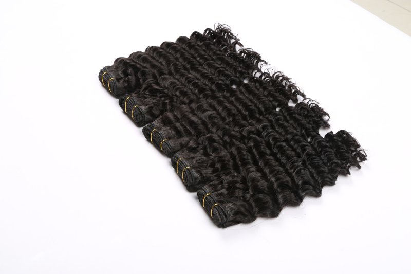 Wholesale Unprocessed Natural Color Virgin Deep Hair Weaving