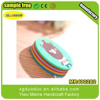 2014 hot sale silicone custom hot plate coaster