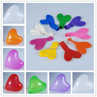 heart latex balloons for party or wedding decoration